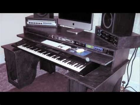 How To Build A Music Production Desk How To Save Money Production Studio Desk