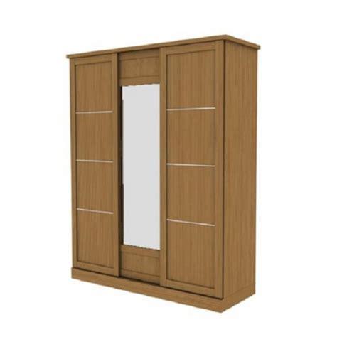 Lemari Baju Merk Olympic lemari pakaian sliding 3 pintu lst010407 olympic furniture