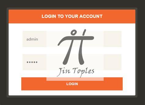 cara membuat sistem login dengan php cara membuat sistem login keren dengan php jin toples