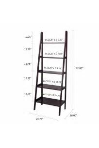 5 Shelf Ladder Bookcase 5 Shelf Ladder Bookcase Casual Home