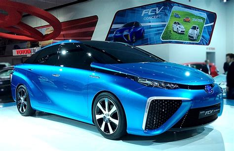 Toyota Fuel Cell Vehicle Toyota All Set To Sell Fuel Cell Car Next Month