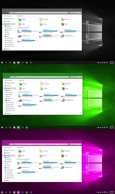 numix theme for windows 10 rtm color theme for windows 10 rtm windows10 themes i
