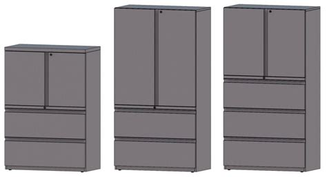 Metal Storage Cabinet With Drawers Office Furniture