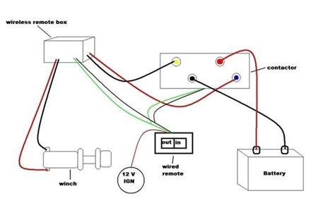winch remote wiring diagram wiring diagram and
