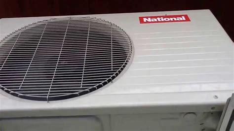 Ac Panasonic Organix 2003 national cu c78kj organix air conditioner outdoor