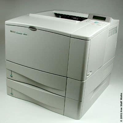 Printer Laser Inkjet impact vs non impact how inkjet printers work