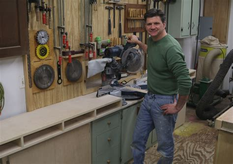 jon peters woodworking build a miter saw station with storage cabinets jon