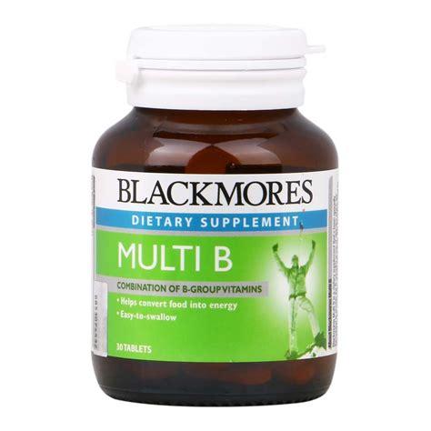 Blackmores Vitamin B Complex blackmores multi b tablets 30 s