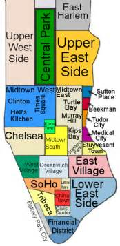 New York Neighborhood Map by Gallery For Gt Map Of New York Neighborhoods