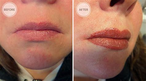 full lip tint tattoo full lip color7 spokane permanent cosmetics permanent