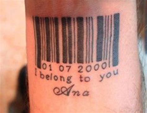 bdsm slave tattoo top 10 barcode designs