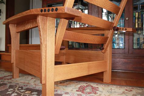 woodworking morris chair plans pdf entry