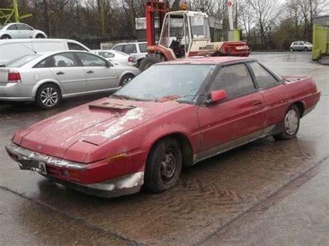 how to fix cars 1986 subaru xt spare parts catalogs subaru xt 1986 for sale car and classic