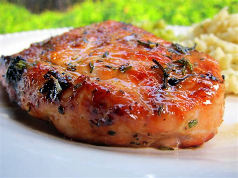 pork chops simply grilling honey rosemary pork chops plain chicken