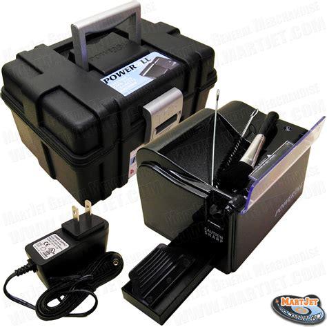 maker electric poweroll top o matic electric cigarette rolling maker