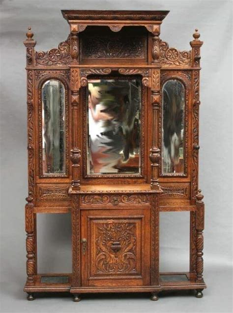antique hall tree with bench antique hall tree bench with mirror remodelling