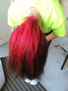 brown hair with red underneath live love long hair on pinterest 20 pins