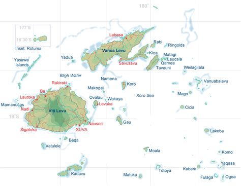 fiji islands map pin fiji map image search results on