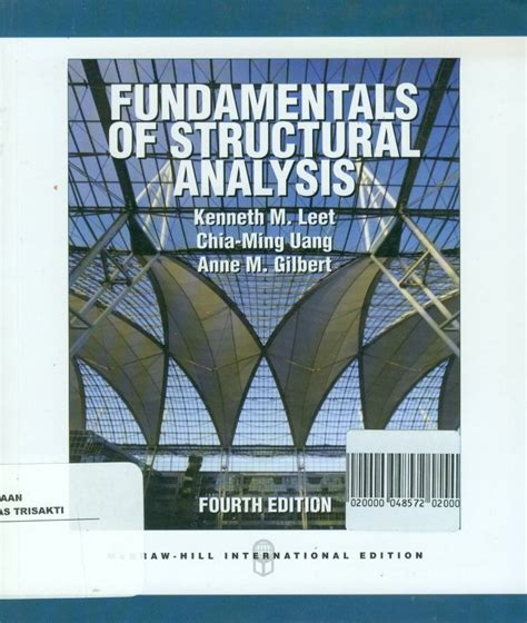 Buku Teknik Structural Analysis 8th pustaka buku fundamentals of structural analysis