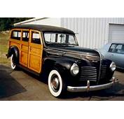 1940 Plymouth Woodie Station Wagon