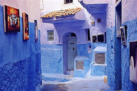 the blue city morocco blue city chefchaouen morocco photo on sunsurfer