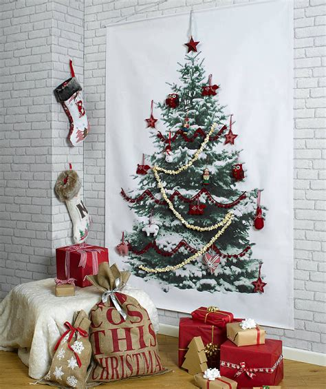contemporary alternative christmas trees for small spaces
