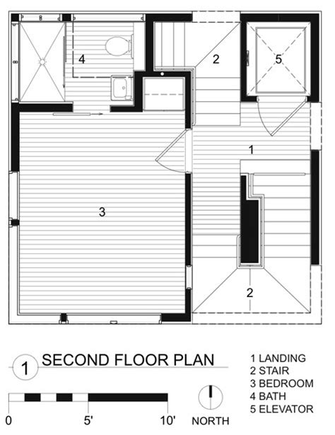 Tower Floor Plans Gallery Of Tower House Andersson Wise Architects 24