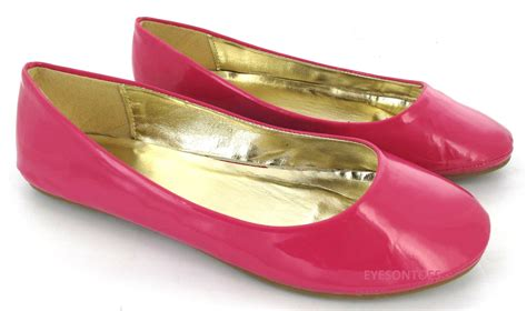 Ballet Flat They Are They Are Big by Womans Large Sizes Flat Ballet Plain Pumps Ballerina