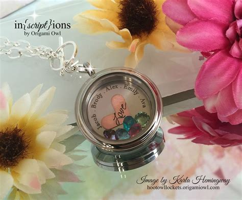 Origami Owl Exles - in script ions by origami owl now you can create a custom