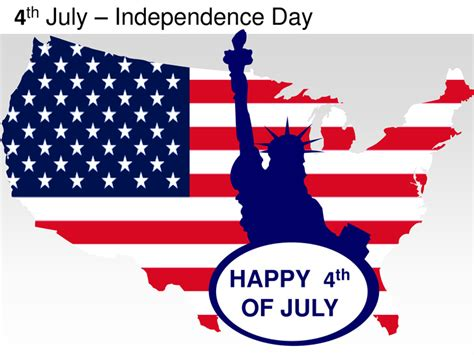 4th July Independence Day Powerpoint Presentation Templates Happy 4th Of July Email Template