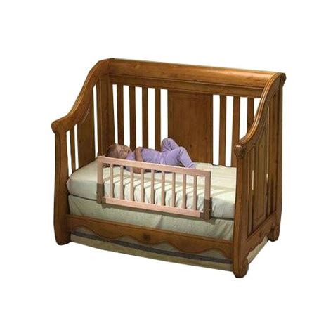 Convertible Crib Rails Kidco Convertible Crib Bed Rail Finish Ebay