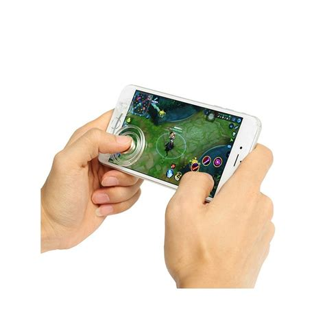 Gamepad Touch Screen Phone Tablet It Joystick Gaming Phone Pad 2pcs clear mobile touch screen joystick controller sucker for mobile phone tablet