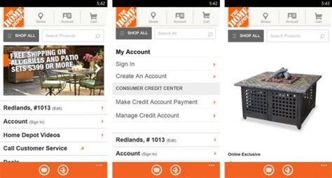 home depot app receives voice search in update