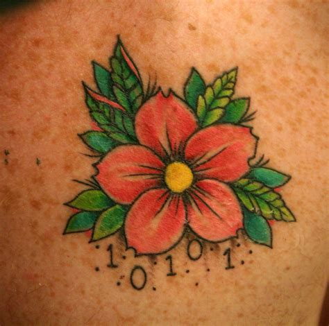 three flower tattoo designs flower tattoos designs and ideas for