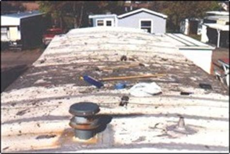 roof repair rubber roof repair for mobile homes