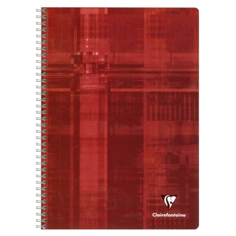 clairefontaine cahier spirale a4 180 pages petits