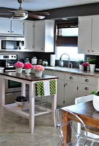 Small Kitchen With Island by 10 Small Kitchen Island Design Ideas Practical Furniture