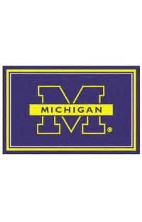 fanmats college rugs of michigan rug rugs