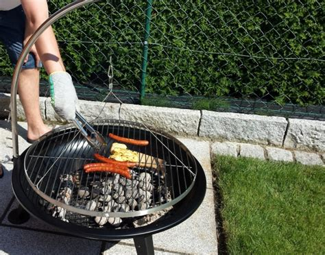grillen auf feuerschale bbq 80 cm feuerschale im test feuerschale test de