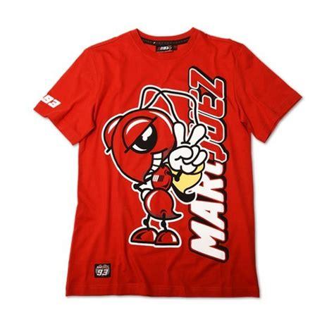 Kaos T Shirt Moto Gp J L t shirt marc marquez avec la fourmi