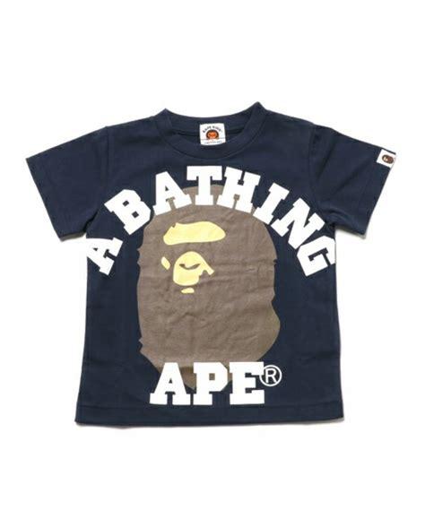 T Shirt Bape 84 a bathing ape college 4 colors print bape