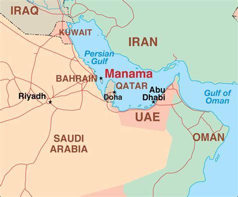 map of uae and iran the gulf tinderbox