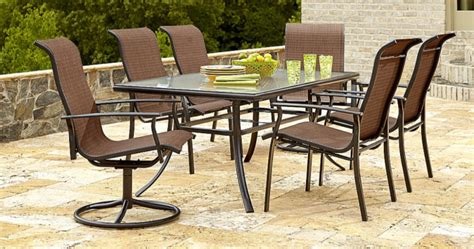 Kmart Patio Furniture Sets Kmart 40 Patio Furniture 7 Dining Set Only 299 99 Regularly 599 99 Hip2save
