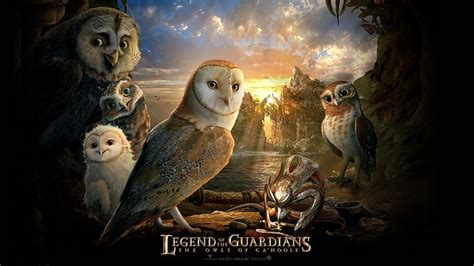 film cartoon owl poster of legend of the guardians the owls of ga hoole