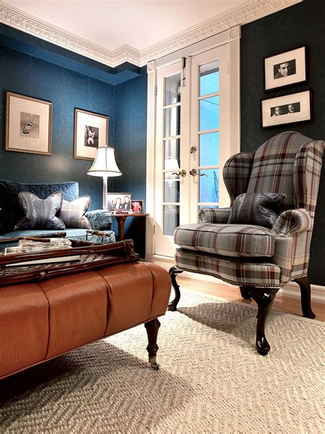 Blue Transitional Living Room 20 Blue And Brown Living Room Designs Decorating Ideas