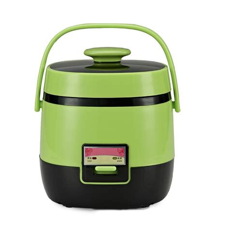 Mini Rice Cooker 2 Fungsi 1 2l portable travel electric mini rice cooker boilers 220v 200w electric heating lunch