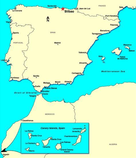 map of spain bilbao bilbao spain map imsa kolese