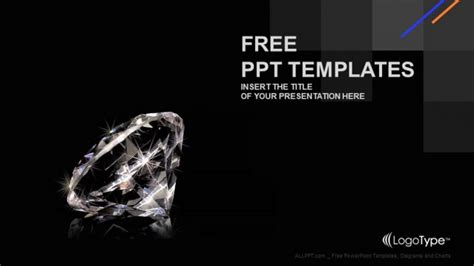 powerpoint templates jewellery luxury diamond powerpoint templates