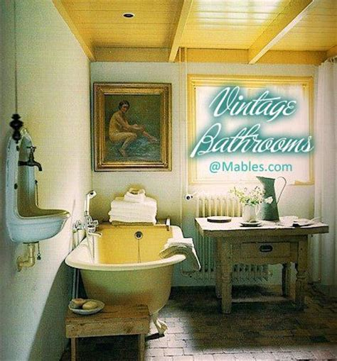 Decorating Ideas For Vintage Bathrooms Vintage Bathroom Bathroom Ideas