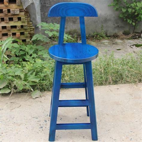 Blue Wooden Bar Stools Popular Wooden Bar Stool Buy Cheap Wooden Bar Stool Lots